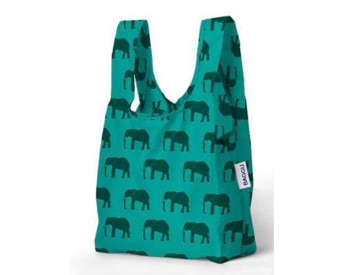 Складная сумка Baggu Baby Elephant Jade