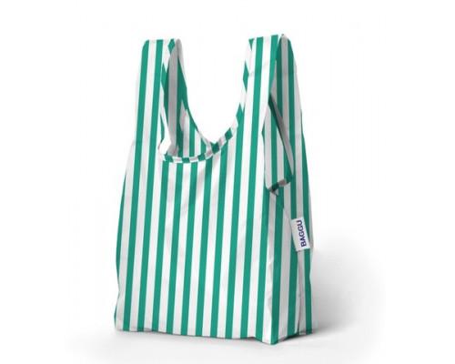 Складная сумка Baggu Baby Mint Stripe