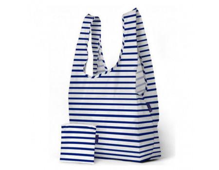 Хозяйственная сумка шоппер большая BAGGU Big Sailor Stripe