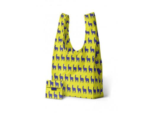 Складная сумка BAGGU Alpaca Neon Blue