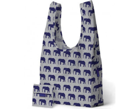 Хозяйственная экосумка шоппер BAGGU Blue Elephant