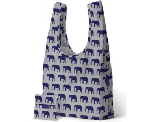 Складная сумка BAGGU Blue Elephant