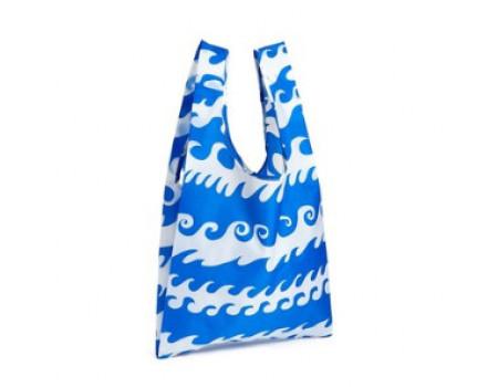 Хозяйственная экосумка шоппер BAGGU Blue Wave