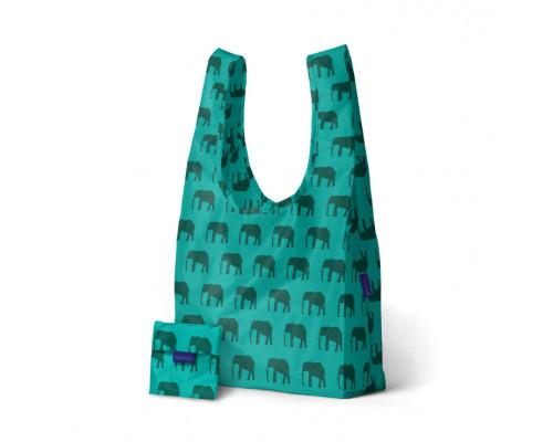 Складная сумка BAGGU Elephant Jade
