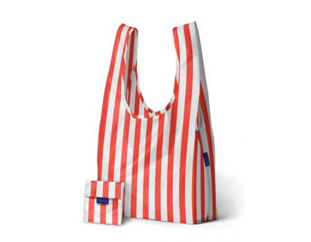 Хозяйственная экосумка шоппер Baggu Poppy Stripe