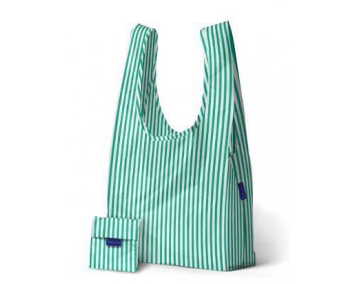 Складная сумка Baggu Mint Stripe