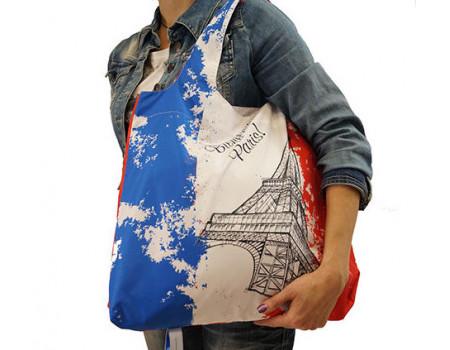 Складная сумка из ткани Франция