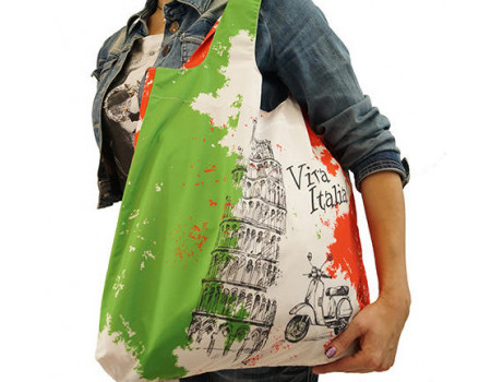 Складная сумка из ткани Италия