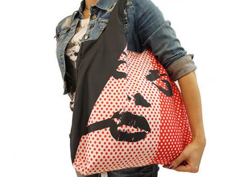 Складная сумка из ткани Монро