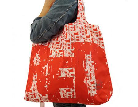 Складная сумка из ткани Red