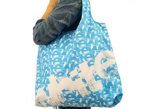 Складная сумка из ткани White