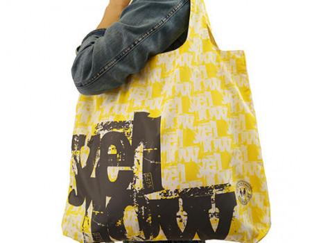 Складная сумка из ткани Yellow