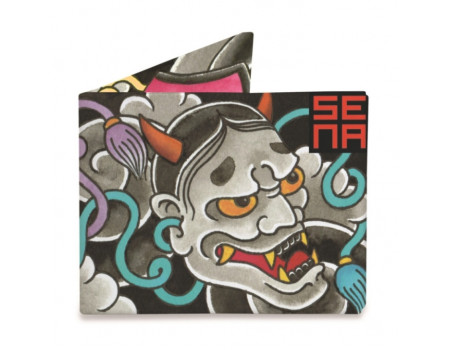 Портмоне Might Wallet  Japanese noh Mask