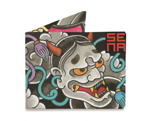 Портмоне Japanese noh Mask