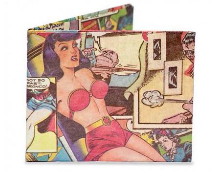 Портмоне Might Wallet Comic Book