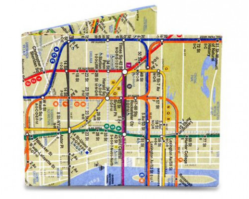 Портмоне NYC Subway Map