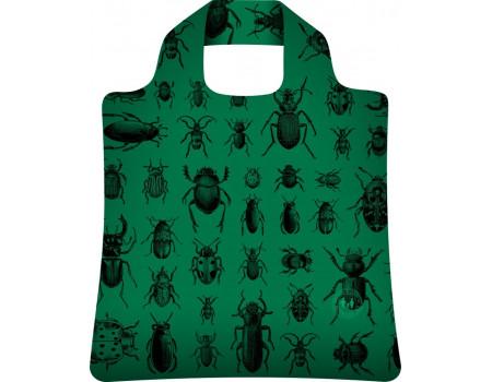 Складная сумка из ткани Жуки-2