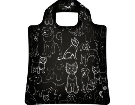 Складная сумка из ткани Black Dog