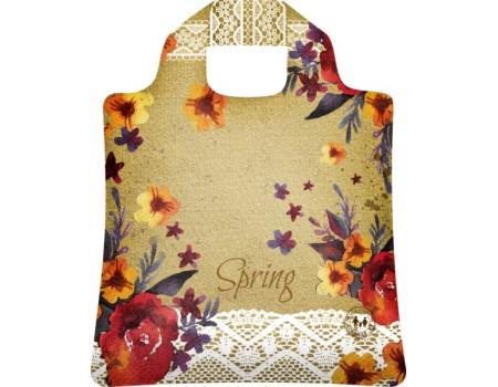 Складная сумка из ткани Весна