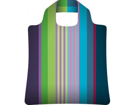 Складная сумка из ткани Полоски