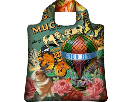 Складная сумка из ткани Винтажная