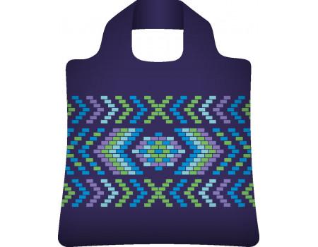 Складная сумка из ткани Плетеная