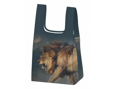 Складная сумка-пакет из ткани  Эдвин Генри Ландсир — Этюд со львом