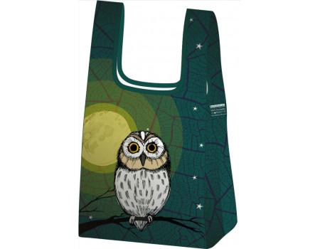 Складная сумка-пакет из ткани Совенок