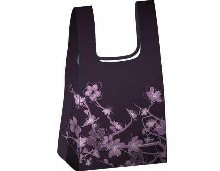 Складная сумка-пакет из ткани Сакура