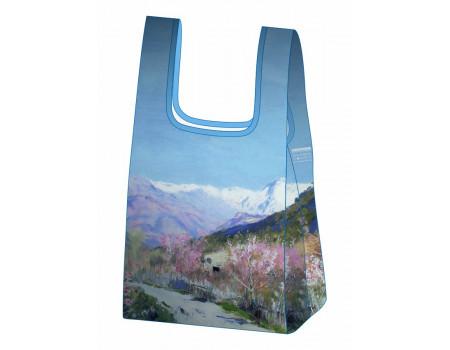 Складная сумка-пакет из ткани Ecobags Левитан Весна в Италии
