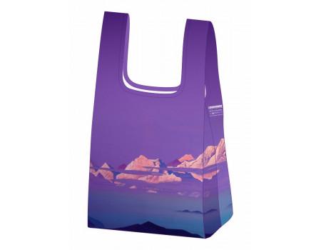 Складная сумка-пакет из ткани  Ecobags Рерих Гималаи