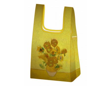 Складная сумка-пакет из ткани  Ecobags Ван Гог Подсолнухи
