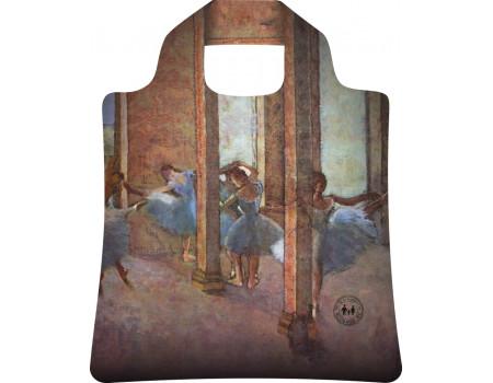 Складная сумка из ткани  Ecobags Эдгар Дега Танцовщицы в фойе