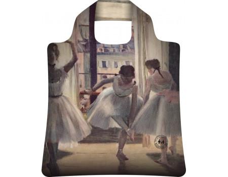 Складная сумка из ткани  Ecobags Эдгар Дега Три танцовщицы в репетиционном зале