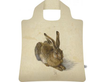 Складная сумка из ткани Альбрехт Дюрер — Заяц