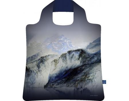 Складная сумка из ткани  Джон Раскин Залив Ури Озеро Люцерн