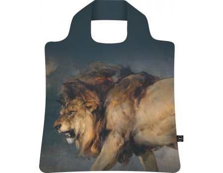 Складная сумка из ткани  Эдвин Генри Ландсир — Этюд со львом
