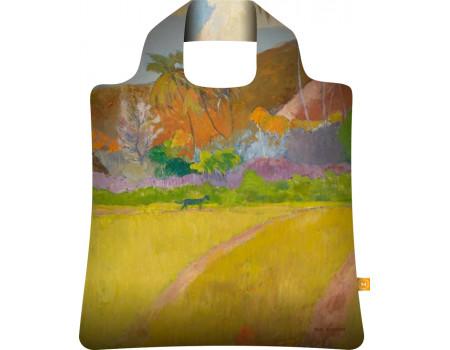 Складная сумка из ткани  Гоген Таитянские пейзажи