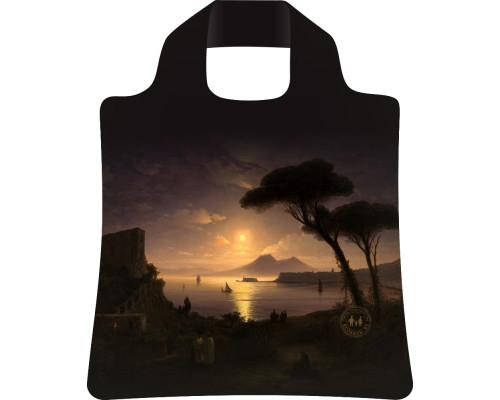 Сумка складная Неаполитанский залив в лунную ночь Айвазовский