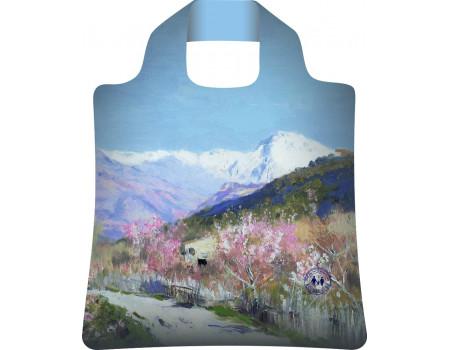 Складная сумка из ткани  Ecobags Исаак Левитан Весна в Италии