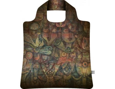 Складная сумка из ткани Поль Клее Странный сад