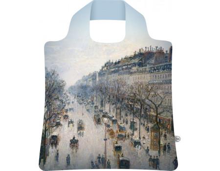 Складная сумка из ткани Писсарро — Бульвар Монмартр