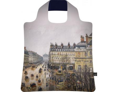 Складная сумка из ткани Писсарро — Бульвар Монмартр-3