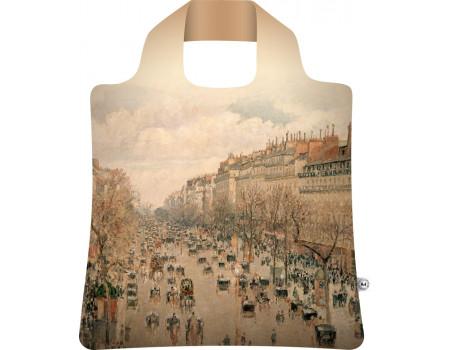 Складная сумка из ткани Писсарро — Бульвар Монмартр-2