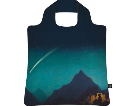 Складная сумка из ткани Рерих Звезда героя