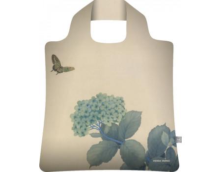 Складная сумка из ткани Ecobags Хисида Шунсо Гортензии