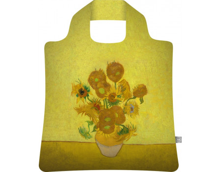 Складная сумка из ткани  Винсент Ван Гог Подсолнухи
