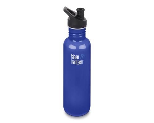 Спортивная бутылка Klean Kanteen Classic Sport 800мл - Coastal Waters