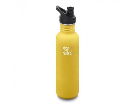 Спортивная бутылка Klean Kanteen Classic Sport 800мл Lemon Curry