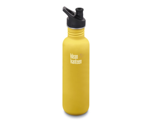 Спортивная бутылка Klean Kanteen Classic Sport 800мл - Lemon Curry